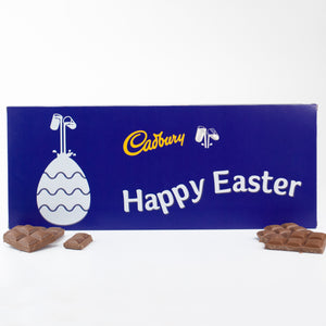 Personalised 850g Cadbury Easter Chocolate Bar-OurPersonalisedGifts.com
