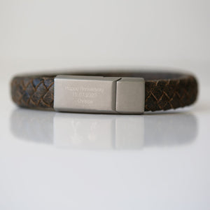 Personalised Antique Style Bracelet-OurPersonalisedGifts.com