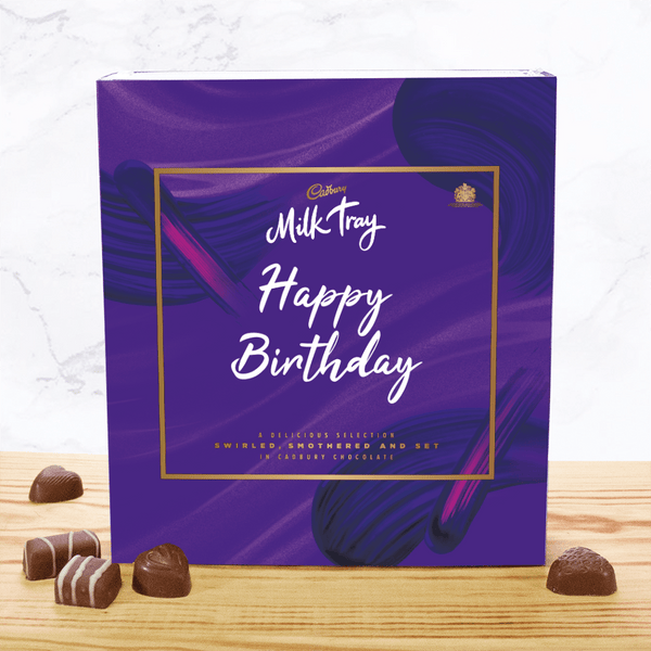 Personalised Any Name Milk Tray-OurPersonalisedGifts.com