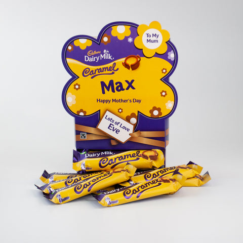 Personalised Cadbury Caramel Mother's Day Favourites Box-OurPersonalisedGifts.com