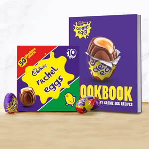 Personalised Cadbury Creme Egg Box & Cook Book-OurPersonalisedGifts.com