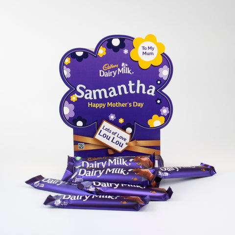 Personalised Cadbury Dairy Milk Mother's Day Favourites Box-OurPersonalisedGifts.com