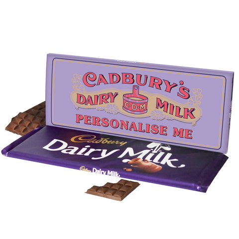 Personalised Cadbury Dairy Milk Retro 1905 Design 850g-OurPersonalisedGifts.com