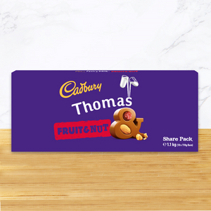 Personalised Cadbury Fruit & Nut Share Pack 1.1kg-OurPersonalisedGifts.com