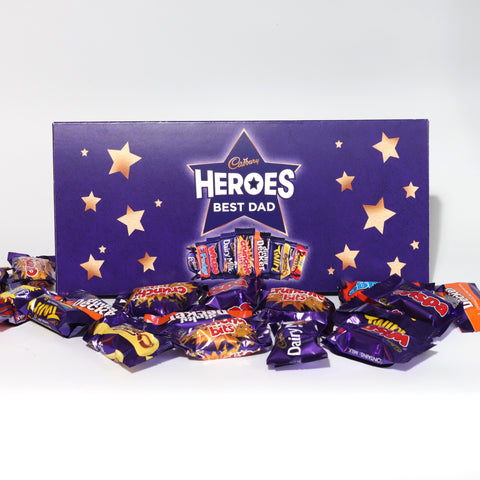 Personalised Cadbury Heroes Small Letterbox Selection-OurPersonalisedGifts.com