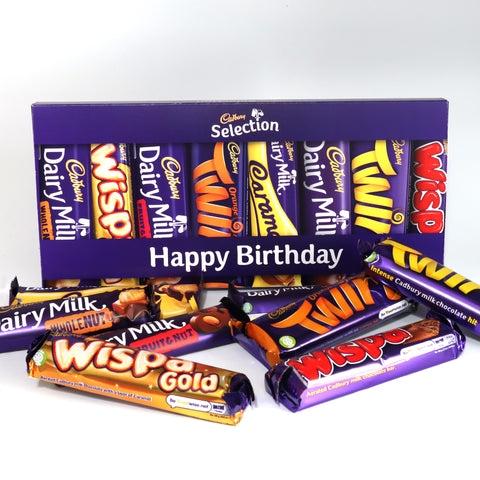 Personalised Cadbury Mixed Bars Letterbox Selection-OurPersonalisedGifts.com