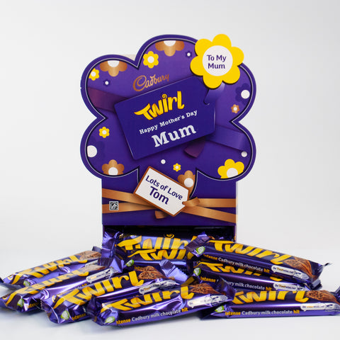 Personalised Cadbury Twirl Mother's Day Favourites Box-OurPersonalisedGifts.com