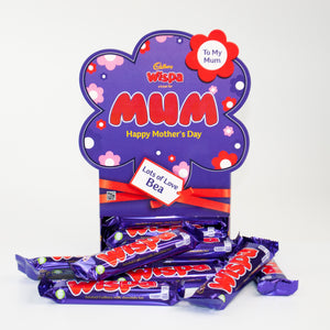 Personalised Cadbury Wispa Mother's Day Favourites Box-OurPersonalisedGifts.com