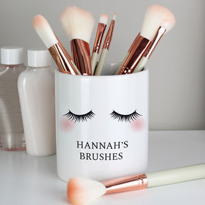Personalised Eyelashes Ceramic Storage Pot-OurPersonalisedGifts.com