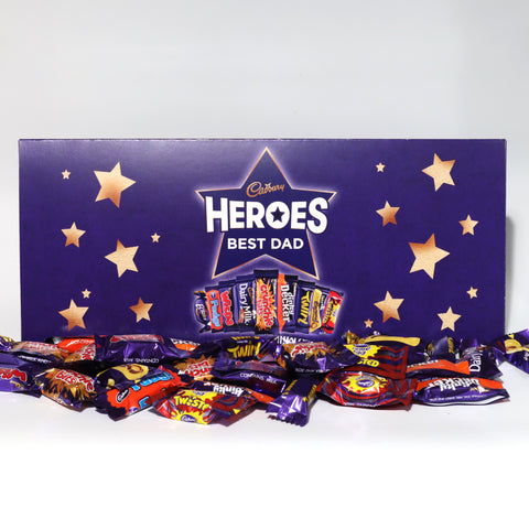 Personalised Large Cadbury Heroes Letterbox Selection-OurPersonalisedGifts.com