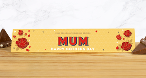 Personalised Mother's Day Milk Chocolate Toblerone 360g-OurPersonalisedGifts.com