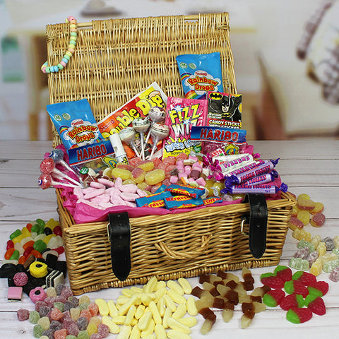 Personalised Retro Sweet Hamper-OurPersonalisedGifts.com