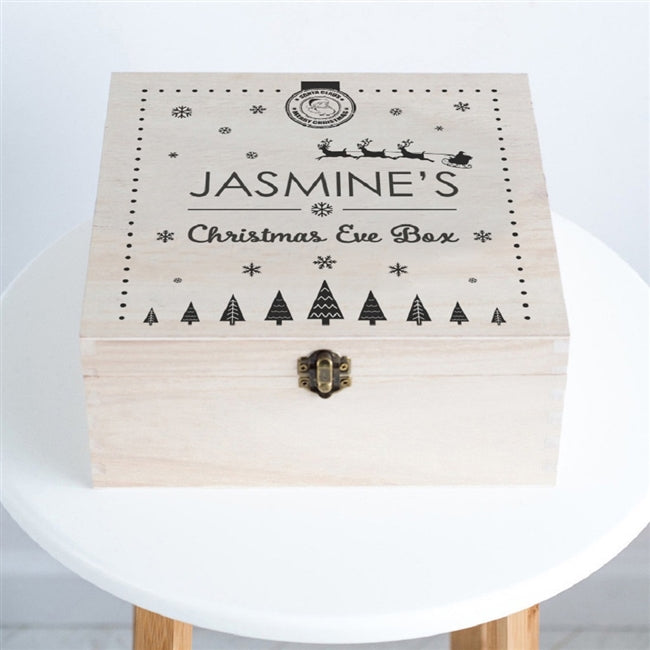 Personalised Santa Christmas Eve Box-OurPersonalisedGifts.com