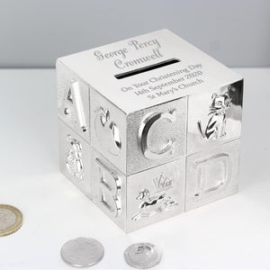 Personalised Big Name ABC Moneybox-OurPersonalisedGifts.com