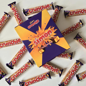 Personalised Crunchie Gift Box-OurPersonalisedGifts.com