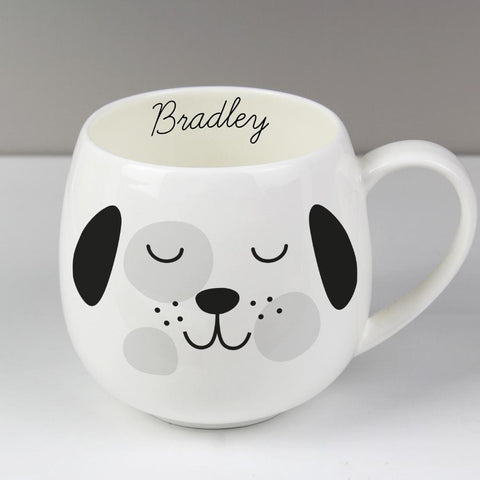 Personalised Cute Dog Shape Mug-OurPersonalisedGifts.com