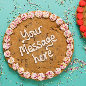 Personalised Giant Cookie Any Message-OurPersonalisedGifts.com