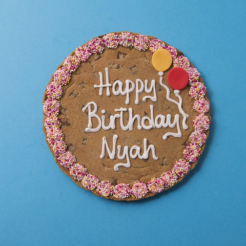 Personalised Giant Cookie Happy Birthday-OurPersonalisedGifts.com