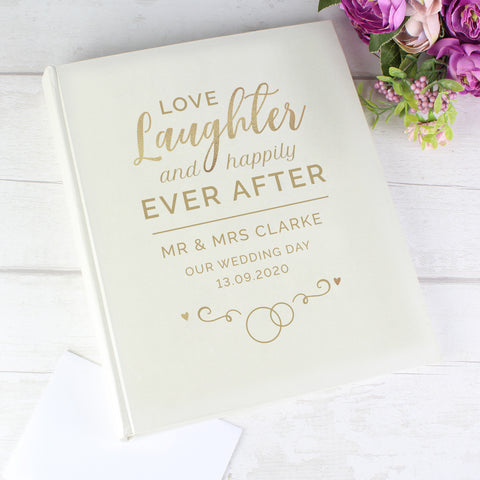 Personalised Happily Ever After Traditional Album-OurPersonalisedGifts.com