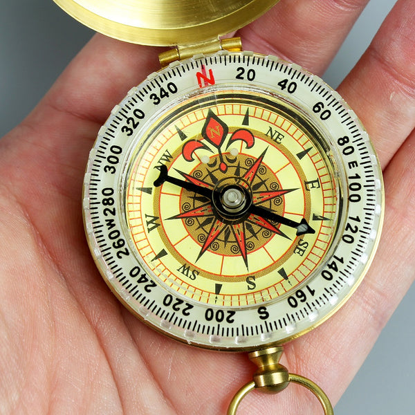 Personalised Classic Keepsake Compass-OurPersonalisedGifts.com
