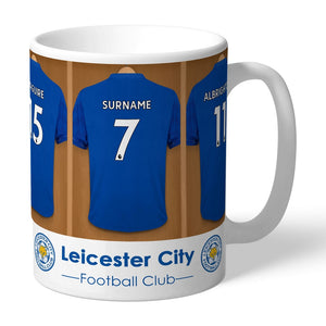 Personalised Leicester City FC Dressing Room Mug-OurPersonalisedGifts.com