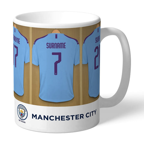 Personalised Manchester City FC Dressing Room Mug-OurPersonalisedGifts.com