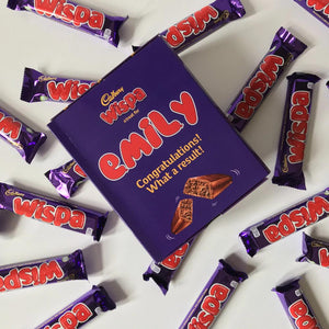 Personalised Wispa Gift Box-OurPersonalisedGifts.com