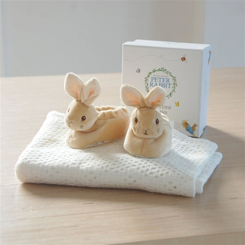 Peter Rabbit Baby Booties-OurPersonalisedGifts.com