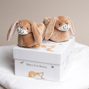 Guess How Much I Love You Baby Booties-OurPersonalisedGifts.com