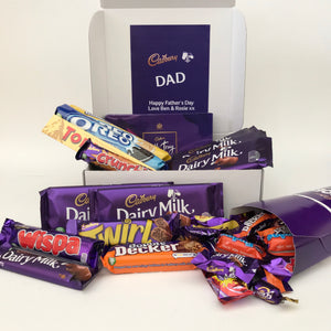 Personalised Cadbury Chocolate Family Hamper-OurPersonalisedGifts.com