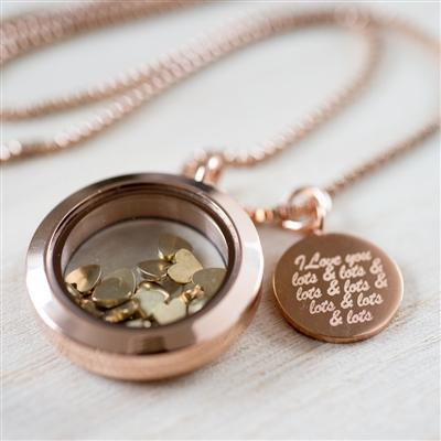 Love You Lots Necklace-OurPersonalisedGifts.com