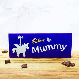 Personalised 850g Cadbury Chocolate Bar - Unicorn-OurPersonalisedGifts.com