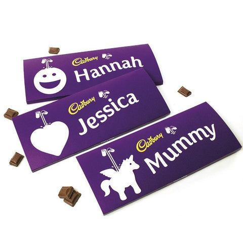 Personalised 850g Cadbury Chocolate Bar-OurPersonalisedGifts.com