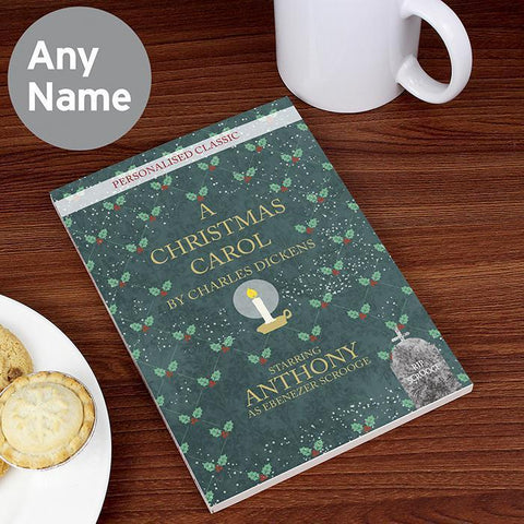 Personalised A Christmas Carol-OurPersonalisedGifts.com