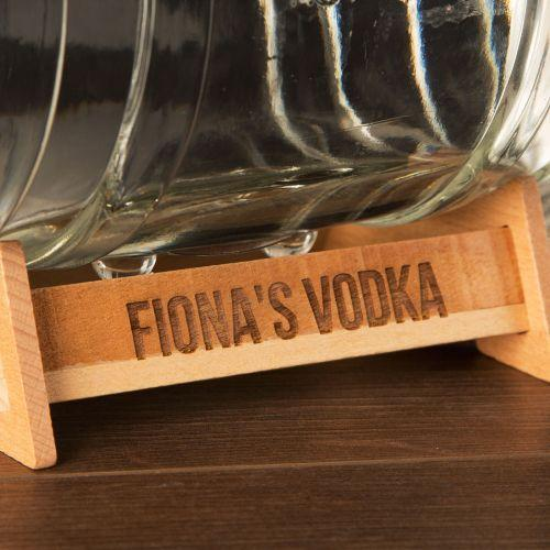 Personalised Barrel Drinks Dispenser-OurPersonalisedGifts.com