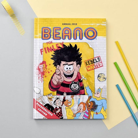 Personalised Beano Annual 2019-OurPersonalisedGifts.com