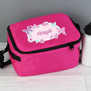 Personalised Butterfly Lunch Bag-OurPersonalisedGifts.com