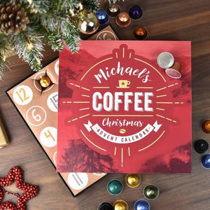 Personalised Coffee Advent Calendar-OurPersonalisedGifts.com