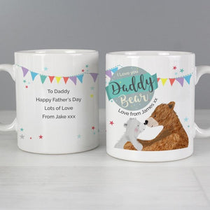 Personalised Daddy Bear Mug-OurPersonalisedGifts.com
