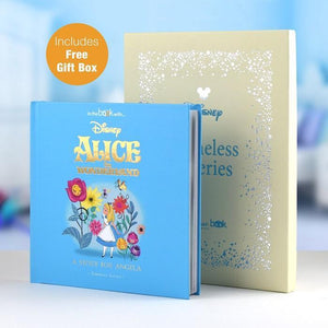 Personalised Disney Alice in Wonderland Book-OurPersonalisedGifts.com