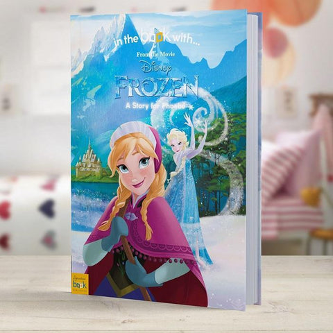 Personalised Disney Frozen Story Book-OurPersonalisedGifts.com