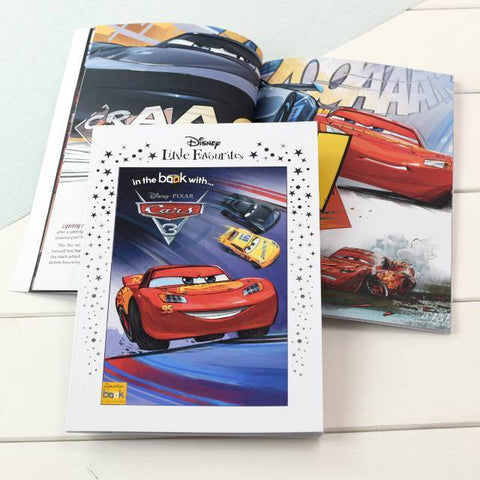 Personalised Disney Little Favourites Cars 3 Story Book-OurPersonalisedGifts.com