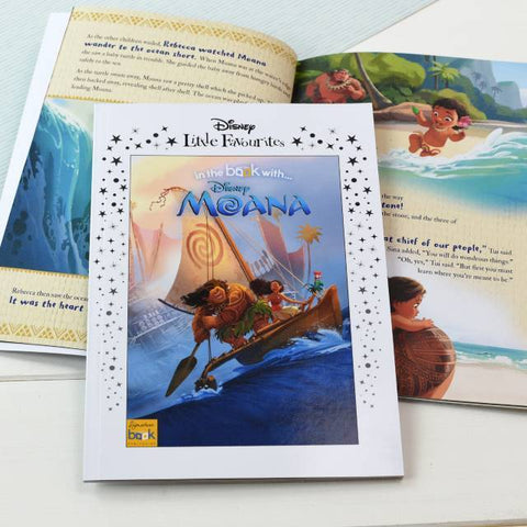 Personalised Disney Little Favourites Moana Story Book-OurPersonalisedGifts.com