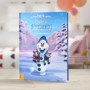 Personalised Disney Olaf's Frozen Adventure Story Book-OurPersonalisedGifts.com