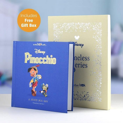 Personalised Disney Pinocchio Book-OurPersonalisedGifts.com