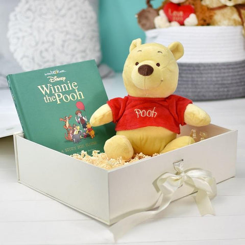 Personalised Disney Winnie the Pooh Plush Toy Gift Set-OurPersonalisedGifts.com