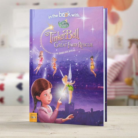 Personalised Disney's Fairies Story Book-OurPersonalisedGifts.com