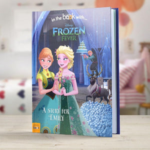 Personalised Disney's Frozen Fever Story Book-OurPersonalisedGifts.com