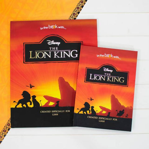 Personalised Disney's The Lion King Premium Book-OurPersonalisedGifts.com