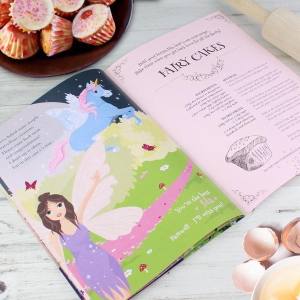 Personalised Fairy Baking Adventure Book-OurPersonalisedGifts.com